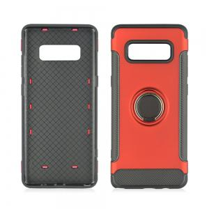 Slim Carbon Fiber Ring Bracket Phone Case для Samsung Galaxy Note 8 -
