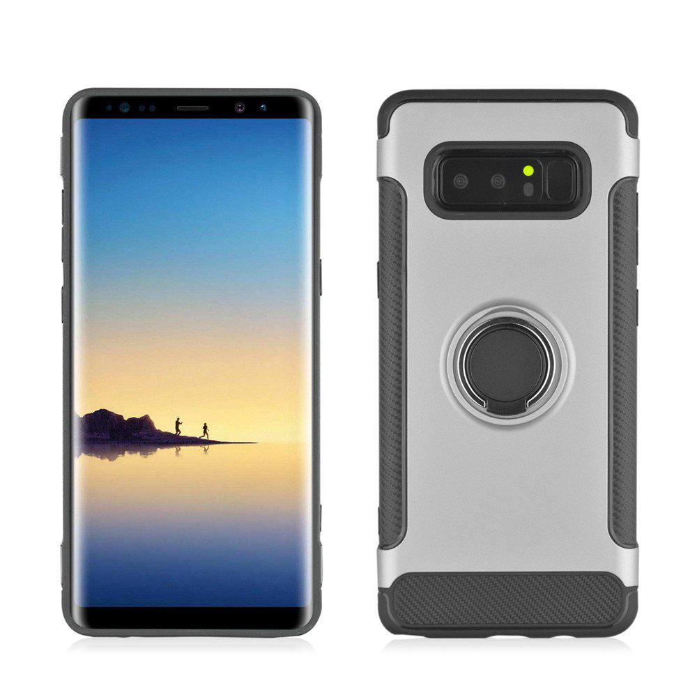 Store Slim Carbon Fiber Ring Bracket Phone Case for Samsung Galaxy Note 8