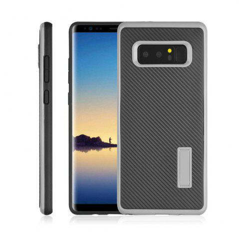 Sale Ultra-thin Carbon Fiber Bracket Phone Case for Samsung Galaxy Note 8