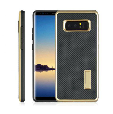 Shop Ultra-thin Carbon Fiber Bracket Phone Case for Samsung Galaxy Note 8