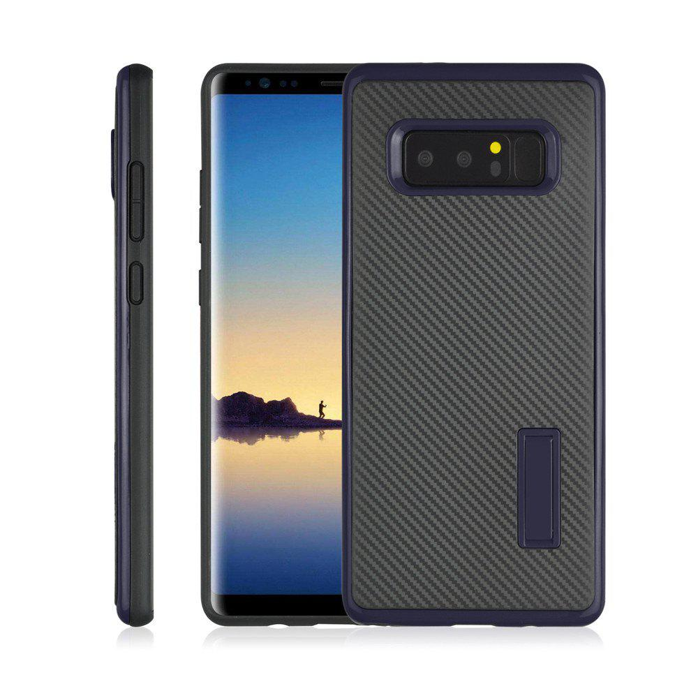 Shops Ultra-thin Carbon Fiber Bracket Phone Case for Samsung Galaxy Note 8