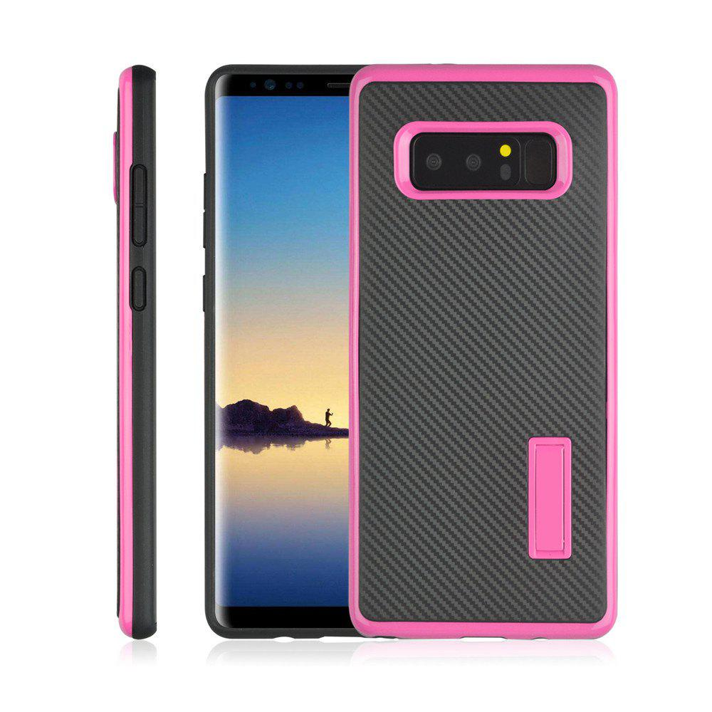 Latest Ultra-thin Carbon Fiber Bracket Phone Case for Samsung Galaxy Note 8