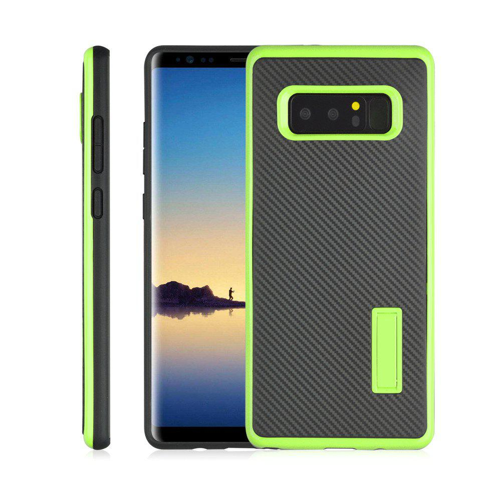 Hot Ultra-thin Carbon Fiber Bracket Phone Case for Samsung Galaxy Note 8