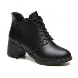 Autumn and Winter New European and American  High Heel Female Boots -