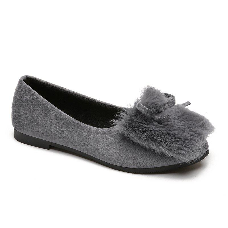 Online Spring and Autumn Bow Shallow Headed Women's Shoes
