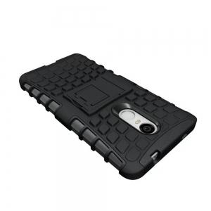 Rugged Spider Armor Heavy Duty Hybrid TPU Silicone Stand Impact Cover for Xiaomi RedMi Note 4 Case -