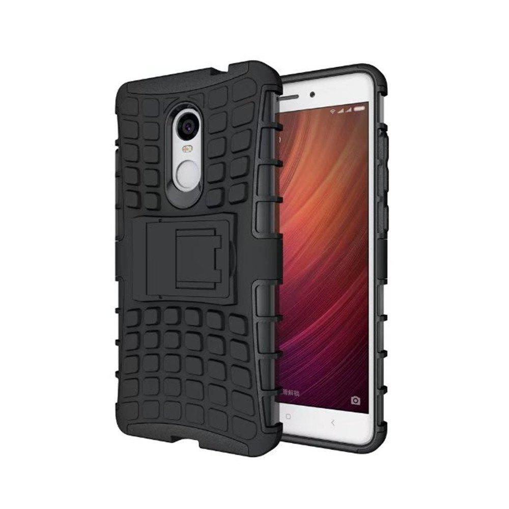 Fancy Rugged Spider Armor Heavy Duty Hybrid TPU Silicone Stand Impact Cover for Xiaomi RedMi Note 4 Case