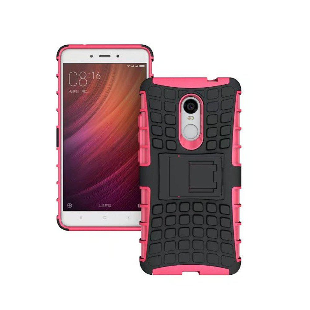 Chic Rugged Spider Armor Heavy Duty Hybrid TPU Silicone Stand Impact Cover for Xiaomi RedMi Note 4 Case