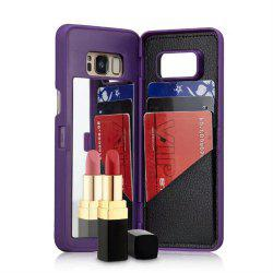Luxury Mirror Flip Phone Cover for Samsung Galaxy S8 Plus Case Girl -