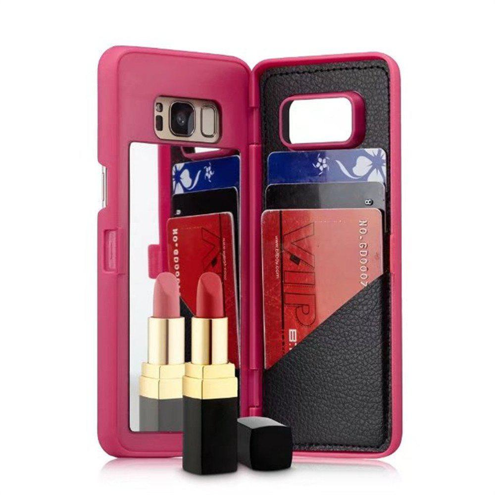 Outfit Luxury Mirror Flip Phone Cover for Samsung Galaxy S8 Plus Case Girl