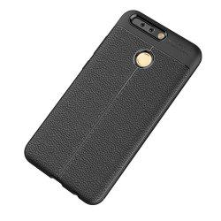 Cuir de luxe Business Litchi Motif PU TPU Housse de protection pour Huawei Honor V9 -