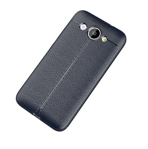 Hot Luxury Leather Business Litchi Pattern PU Soft TPU Cover Case for Huawei Honor Y3