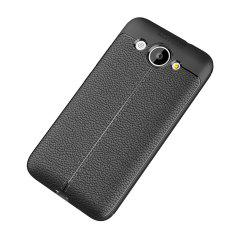 Cuir de luxe Business Litchi Motif PU TPU Housse de protection pour Huawei Honor Y3 -