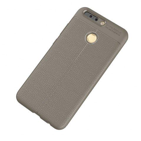 Latest Luxury Leather Business Litchi Pattern PU Soft TPU Cover Case for Huawei P9