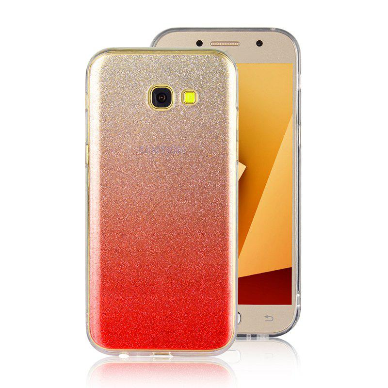 Affordable TPU Translucent Flash Shell for Samsung Galaxy A7 2017