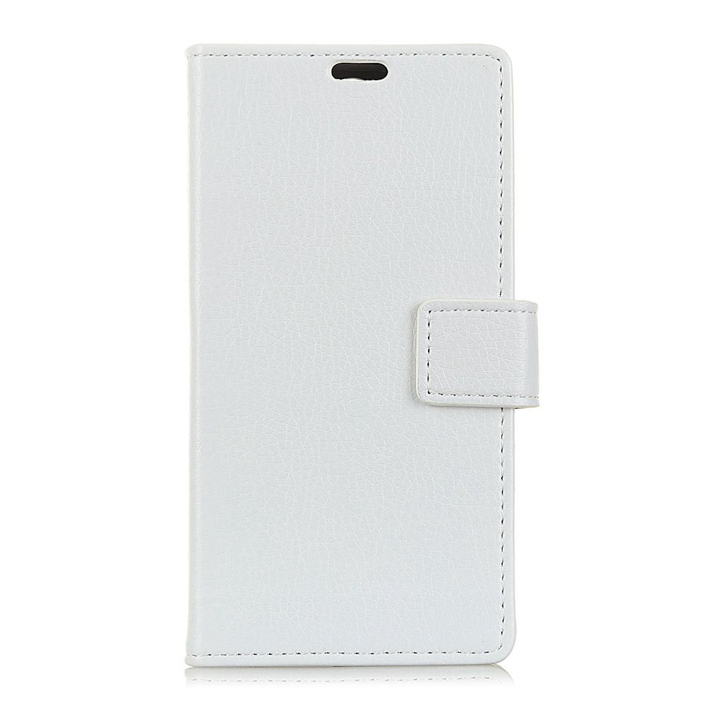Shops Litchi Pattern PU Leather Wallet Case for  LG Q8