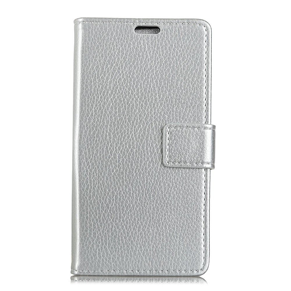 Hot Litchi Pattern PU Leather Wallet Case for  LG Q8