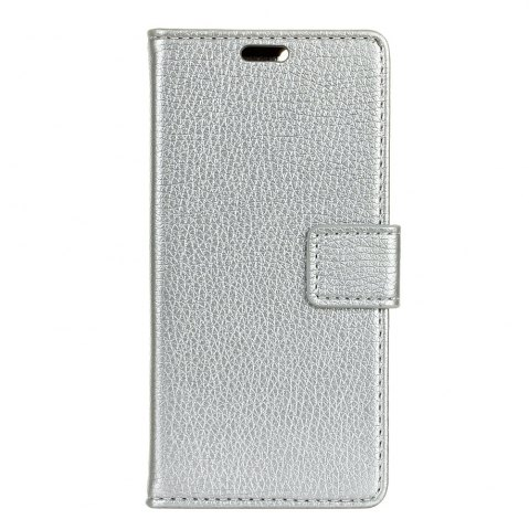 Affordable Litchi Pattern PU Leather Wallet Case for MOTO G5S