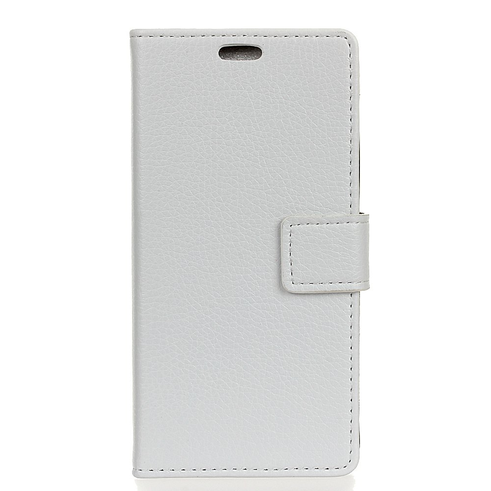 Buy Litchi Pattern PU Leather Wallet Case for MOTO G6
