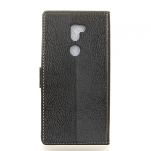 Litchi Pattern PU Leather Wallet Case for Xiaomi 5S Plus -