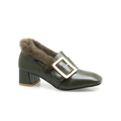 Outfits Winter Single Shoes Fashion Casual Low High Roman Shoe