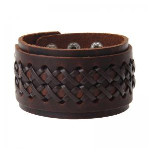 Korean Fashion Leather Rope Wear Punk Bracelet -