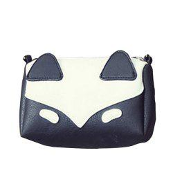 Women's Crossbody Sweet Patchwork Colorblock Zipper Mini Bag -