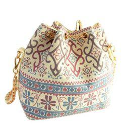 Women's Fashion Design Bucket Chain Shoulder Bag -