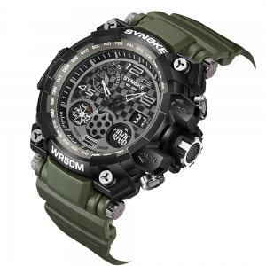 SYNOKE 67386 Montre Homme Multifonctions Sports Tendance -
