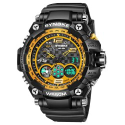 SYNOKE 67386 Trendy Sports Multifunctional Man Watch -
