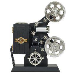 Movie Projector Plastic Music Box -