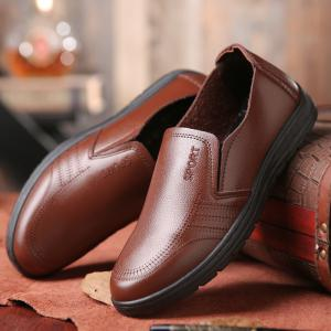 Men's Casual Shoes Fashion Solid Color Hollow Out Breathable Shoes -
