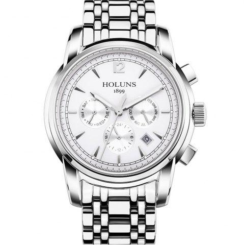Store HOLUNS 4872 Men Business Casual Steel Band Automatic Mechanical Watch