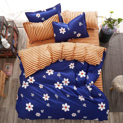 Discount Fashion Love Flower Personalized Polyester Bedding Set