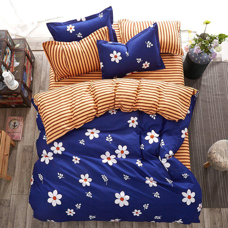 Trendy Fashion Love Flower Personalized Polyester Bedding Set
