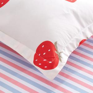 Fashion Strawberry Heart Personalized Polyester Bedding Set -