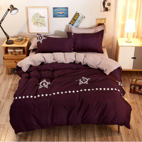 Online Fashion Bright Stars Personalized Polyester Bedding Set