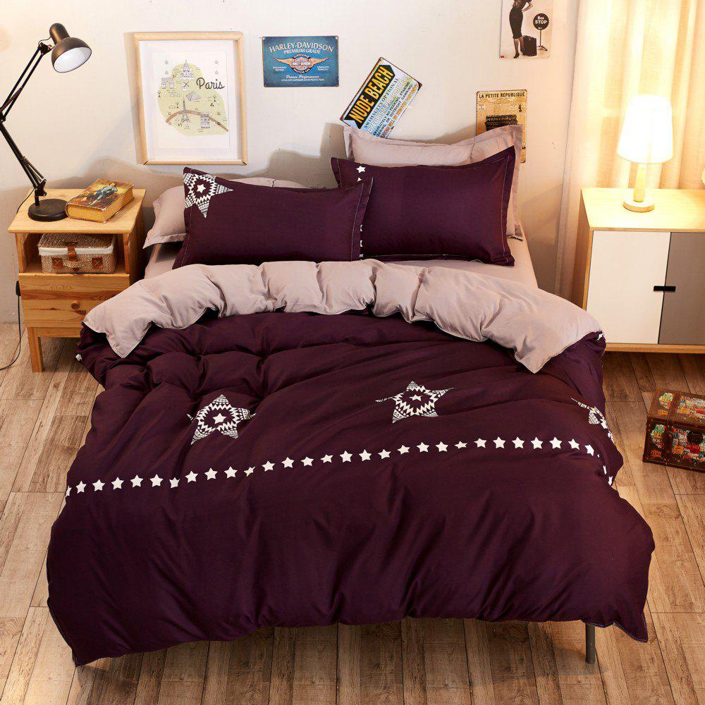 Discount Fashion Bright Stars Personalized Polyester Bedding Set