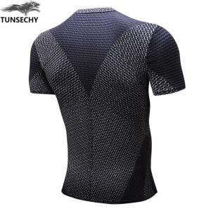 Trend Of Men's Clothing Fast Dry  T-shirt -