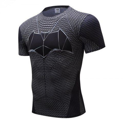 Fancy Trend Of Men's Clothing Fast Dry  T-shirt