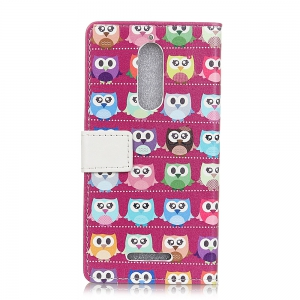 Wkae Vintage Classic Jeans Texture Leather Case for Wiko View -