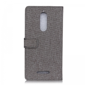Wkae Solid Color Linen Texture Holster for Wiko View -
