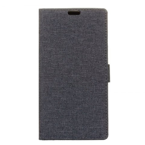 Store Wkae Solid Color Linen Texture Holster Case for Huawei Honor 7X