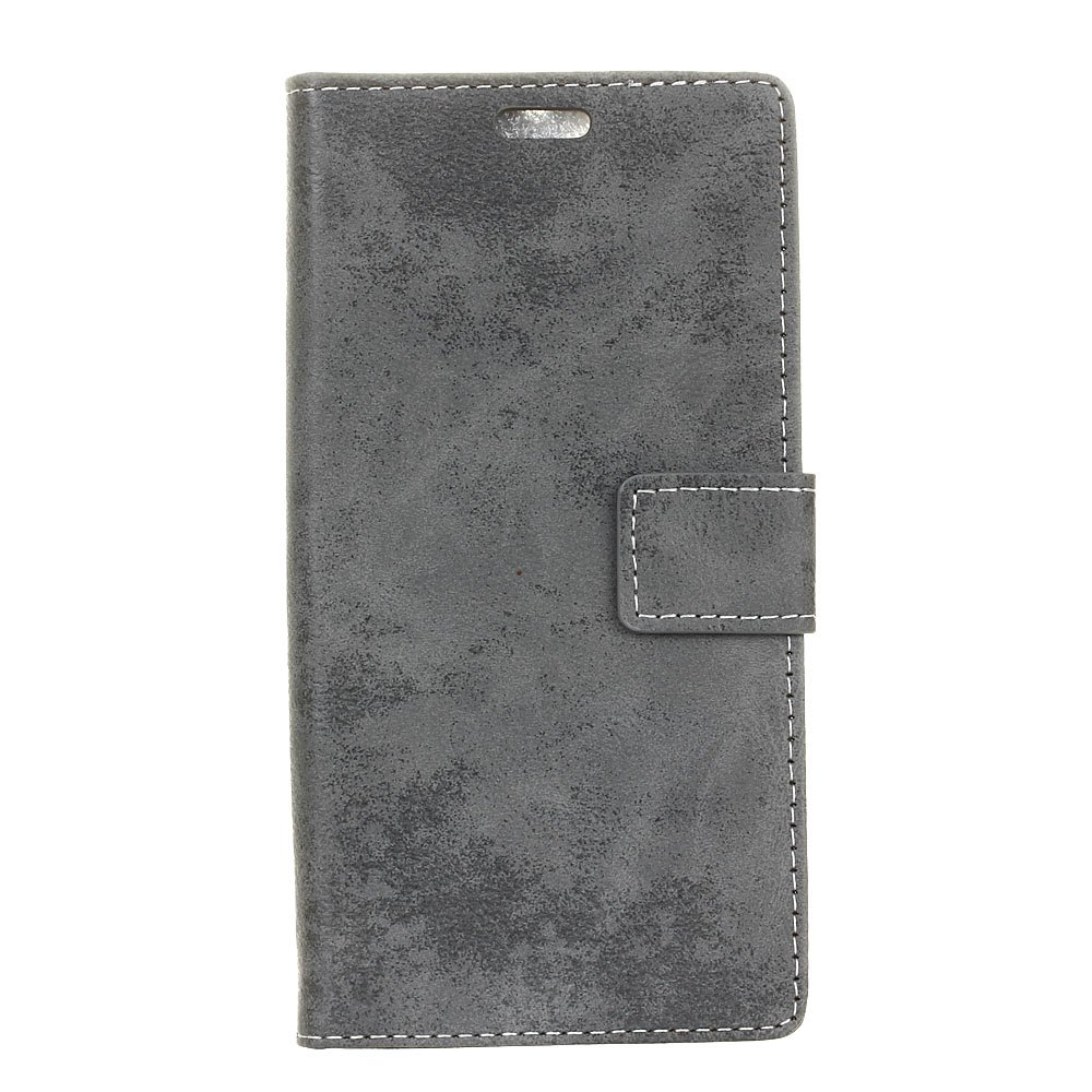 Discount KaZiNe Retro PU Leather Silicon Magnetic Dirt Resistant Phone Case for Alcatel A3-5.0