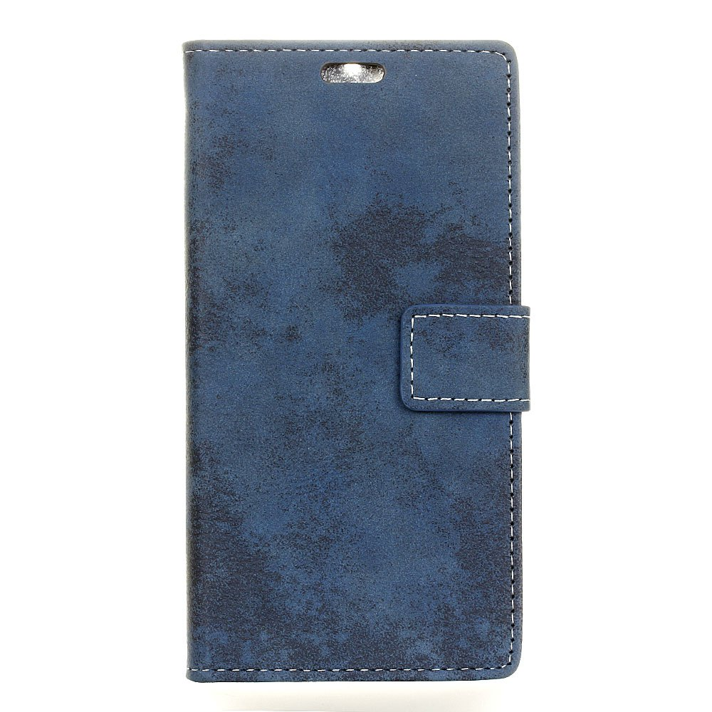 Shops KaZiNe Retro PU Leather Silicon Magnetic Dirt Resistant Phone Case for Alcatel A3-5.0