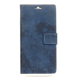 KaZiNe Retro PU Leather Silicon Magnetic Dirt Resistant Phone Case for Alcatel A5 LED -