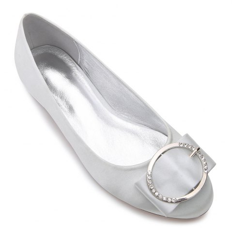 Trendy 5049-31Women's Shoes Wedding Shoes Flat Heel