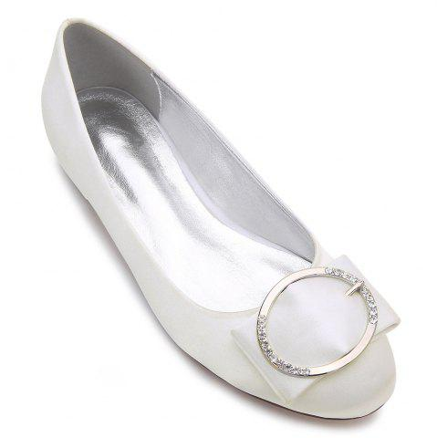 Best 5049-31Women's Shoes Wedding Shoes Flat Heel