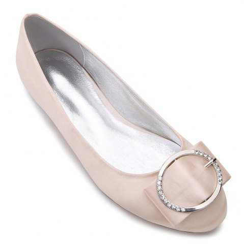 New 5049-31Women's Shoes Wedding Shoes Flat Heel