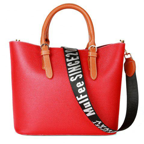 Shops Women's Handbag Solid Color All-match Large Capacity Top Fashion Bag
